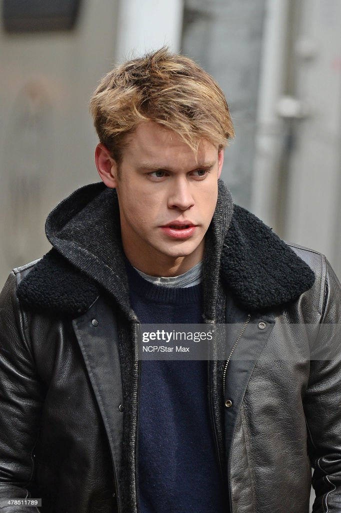 Actor <a gi-track='captionPersonalityLinkClicked' href=/galleries/search?phrase=Chord+Overstreet&family=editorial&specificpeople=7126148 ng-click='$event.stopPropagation()'>Chord Overstreet</a> is seen on March 13, 2014 in New York City.