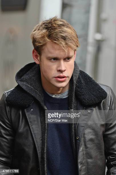 Actor Chord Overstreet is seen on March 13 2014 in New York City