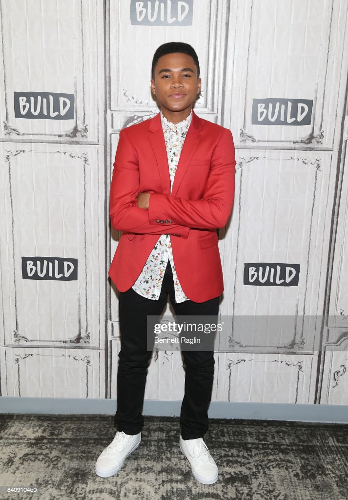 Actor Chosen Jacobs attends Build to discuss the movie 'IT' at Build Studio on August 30, 2017 in New York City.