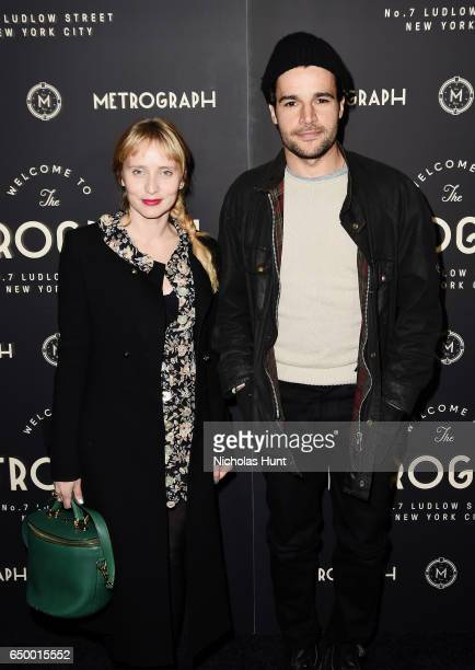 Actor Chris Abbott attends the Metrograph Theater 1st Year Anniversary Party at The Metrograph on March 8 2017 in New York City