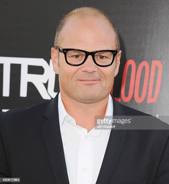 Actor Chris Bauer arrives at HBO's 'True Blood' Final Season Premiere at TCL Chinese Theatre on June 17 2014 in Hollywood California
