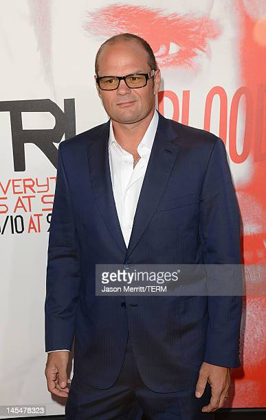 Actor Chris Bauer arrives at the premiere of HBO 'True Blood' season 5 premiere held at ArcLight Cinemas Cinerama Dome on May 30 2012 in Hollywood...