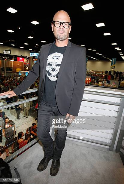 Actor Chris Bauer attends HBO's 'True Blood' cast autograph signing during ComicCon 2014 on July 26 2014 in San Diego California