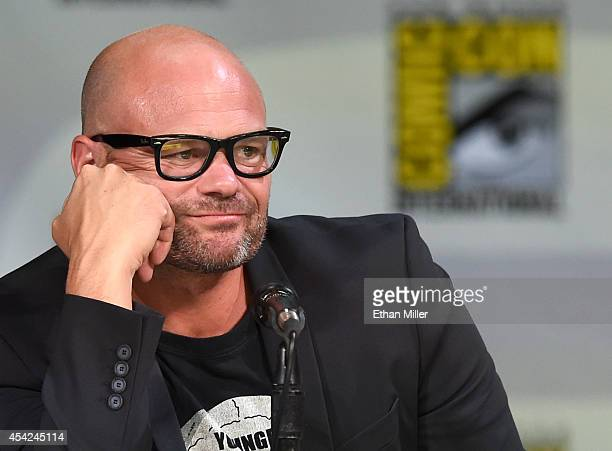 Actor Chris Bauer attends HBO's 'True Blood' panel during ComicCon International 2014 at the San Diego Convention Center on July 26 2014 in San Diego...