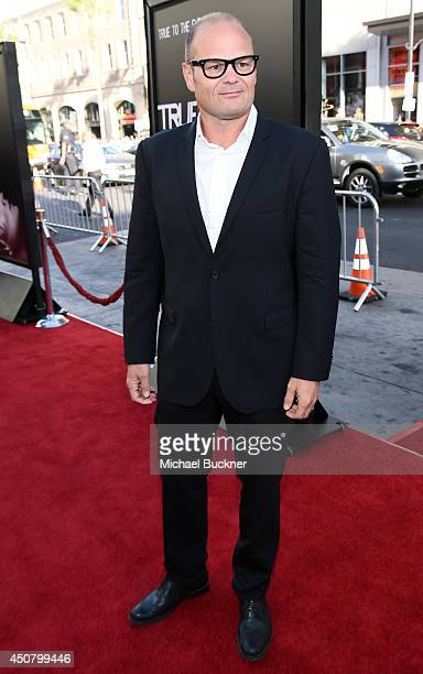 Actor Chris Bauer attends Premiere Of HBO's 'True Blood' Season 7 And Final Season at TCL Chinese Theatre on June 17 2014 in Hollywood California