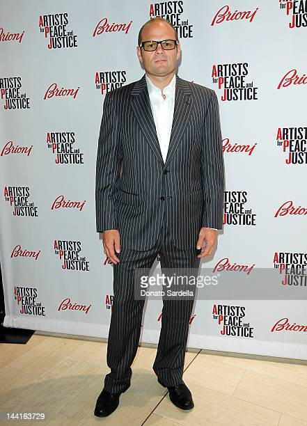 Actor Chris Bauer attends the Brioni Rodeo Drive boutique opening at Brioni Rodeo Drive Boutique on May 10 2012 in Beverly Hills California