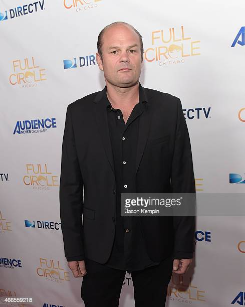 Actor Chris Bauer attends the premiere of DIRECTV Audience Network's 'Full Circle' at The London Hotel on March 16 2015 in West Hollywood California