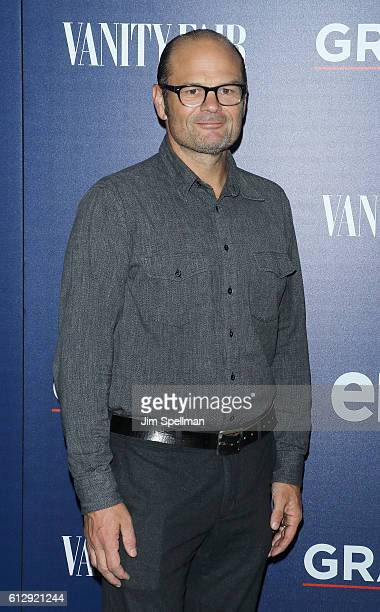 Actor Chris Bauer attends the premiere of EPIX original series 'Graves' hosted by EPIX and Vanity Fair at Museum of Modern Art on October 5 2016 in...
