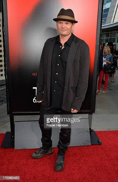 Actor Chris Bauer attends the premiere of HBO's 'True Blood' Season 6 at ArcLight Cinemas Cinerama Dome on June 11 2013 in Hollywood California