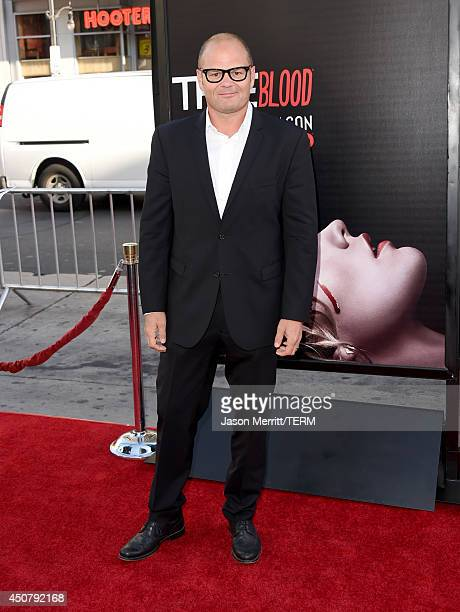 Actor Chris Bauer attends the premiere of HBO's 'True Blood' season 7 and final season at TCL Chinese Theatre on June 17 2014 in Hollywood California