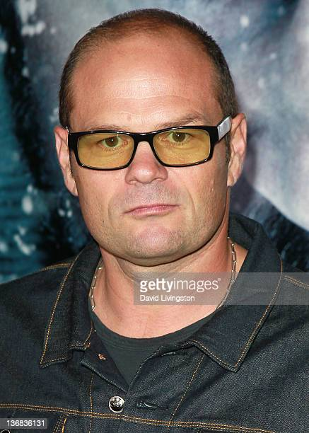 Actor Chris Bauer attends the premiere of Open Road's 'The Grey' at Regal Cinemas LA LIVE on January 11 2012 in Los Angeles California