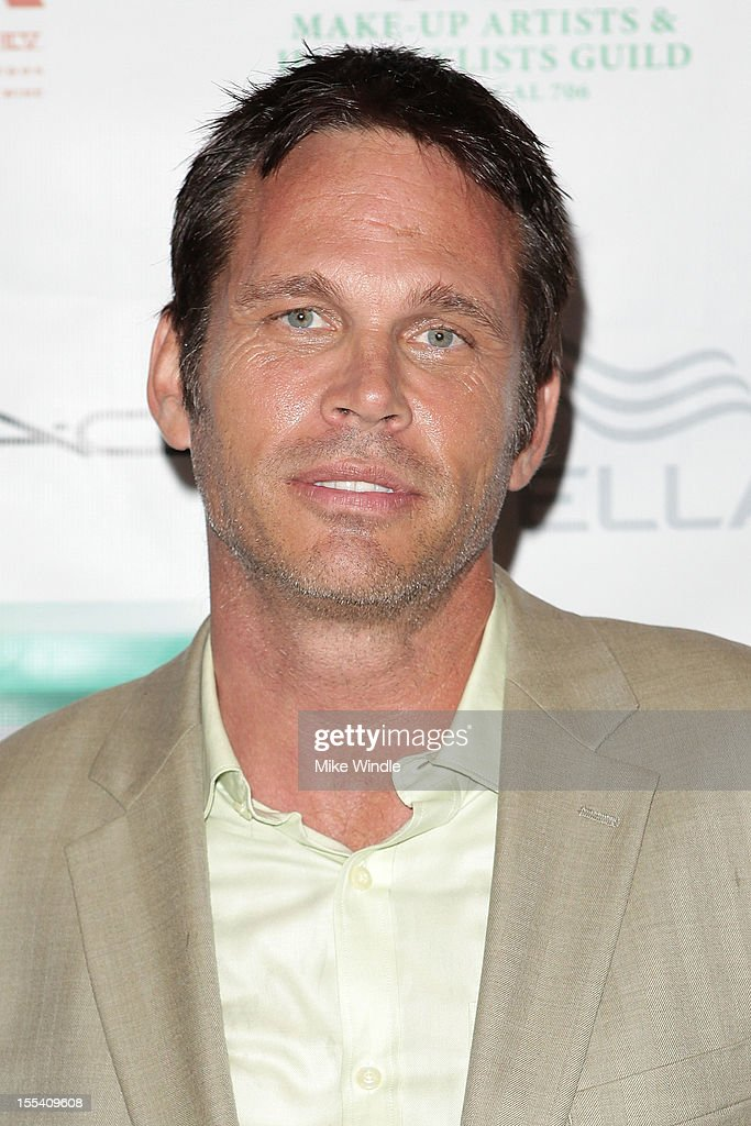 Actor Chris Browning arrives at The Make-Up Artists And Hair Stylists Guild 75th Anniversary Gala at The Hollywood Museum on November 3, 2012 in Hollywood, California.