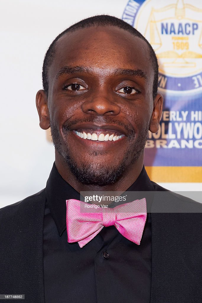 Actor Chris Chalk attends the 23rd Annual NAACP Theatre Awards at Saban Theatre on November 11, 2013 in Beverly Hills, California.
