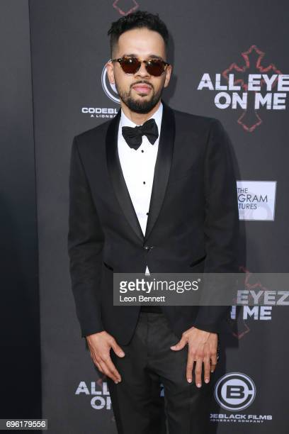 Actor Chris Clarke attends Premiere Of Lionsgate's 'All Eyez On Me' at the Westwood Village Theatres on June 14 2017 in Los Angeles California