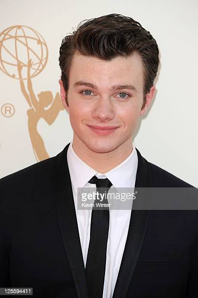 Actor Chris Colfer arrives at the 63rd Annual Primetime Emmy Awards held at Nokia Theatre LA LIVE on September 18 2011 in Los Angeles California