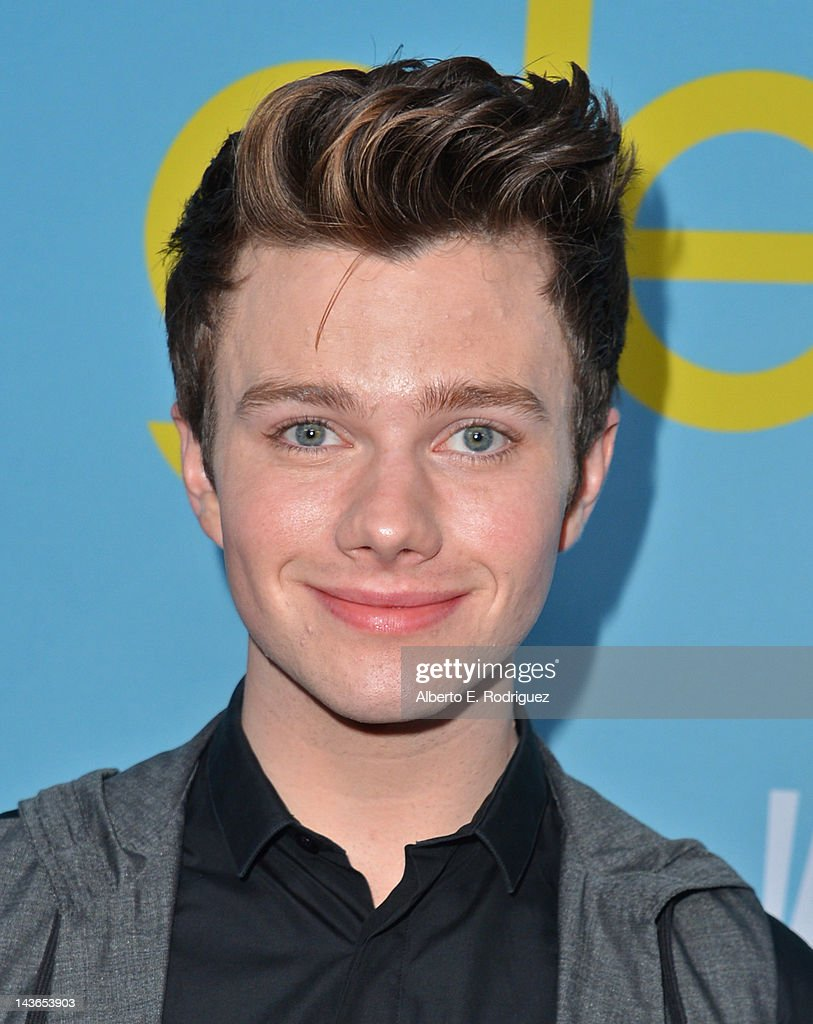 Actor <a gi-track='captionPersonalityLinkClicked' href=/galleries/search?phrase=Chris+Colfer&family=editorial&specificpeople=5662110 ng-click='$event.stopPropagation()'>Chris Colfer</a> arrives to The Academy of Television Arts & Sciences' screening of Fox's 'Glee' at Leonard Goldenson Theatre on May 1, 2012 in North Hollywood, California.