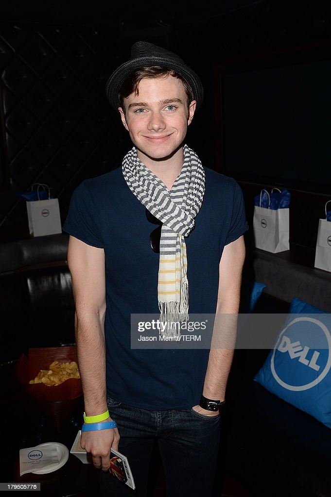 Actor <a gi-track='captionPersonalityLinkClicked' href=/galleries/search?phrase=Chris+Colfer&family=editorial&specificpeople=5662110 ng-click='$event.stopPropagation()'>Chris Colfer</a> attends a private event at Hyde Lounge hosted by Dell for the Beyonce concert at The Staples Center on July 1, 2013 in Los Angeles, California.