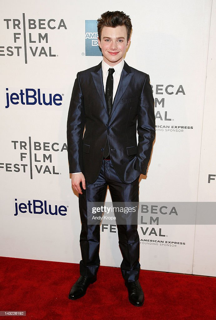 Actor Chris Colfer attends 'Struck By Lightning' Premiere during the 2012 Tribeca Film Festival at the Borough of Manhattan Community College on April 21, 2012 in New York City.