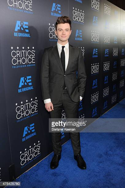 Actor Chris Colfer attends the 5th Annual Critics' Choice Television Awards at The Beverly Hilton Hotel on May 31 2015 in Beverly Hills California