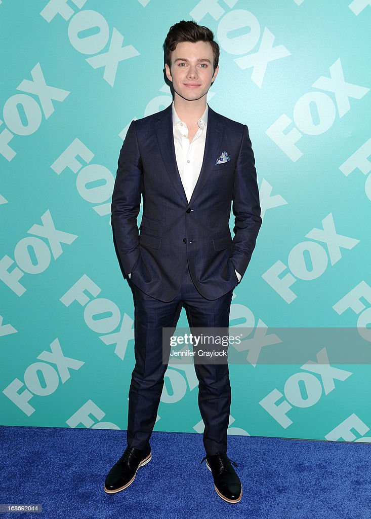 Actor Chris Colfer attends the FOX 2103 Programming Presentation Post-Party at Wollman Rink in Central Park on May 13, 2013 in New York City.