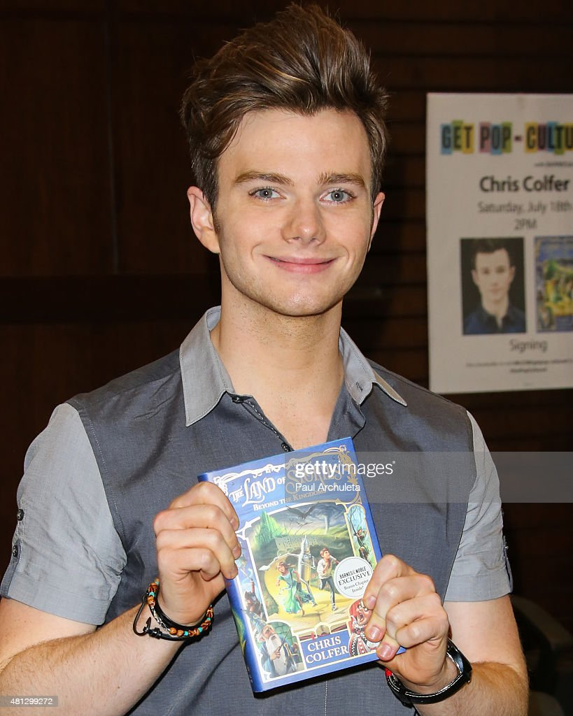 Chris Colfer Getty Images
