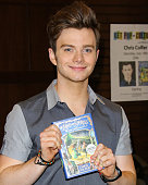 Actor Chris Colfer signs copies of his new book 'The Land of Stories Beyond the Kingdoms' at Barnes Noble at The Grove on July 18 2015 in Los Angeles...