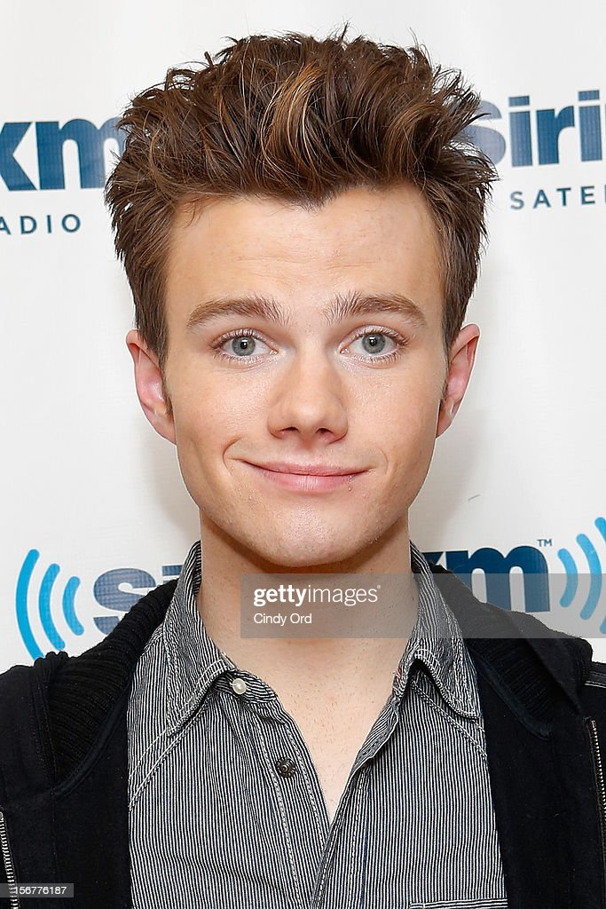 Actor Chris Colfer visits the SiriusXM Studios on November 20, 2012 in New York City.