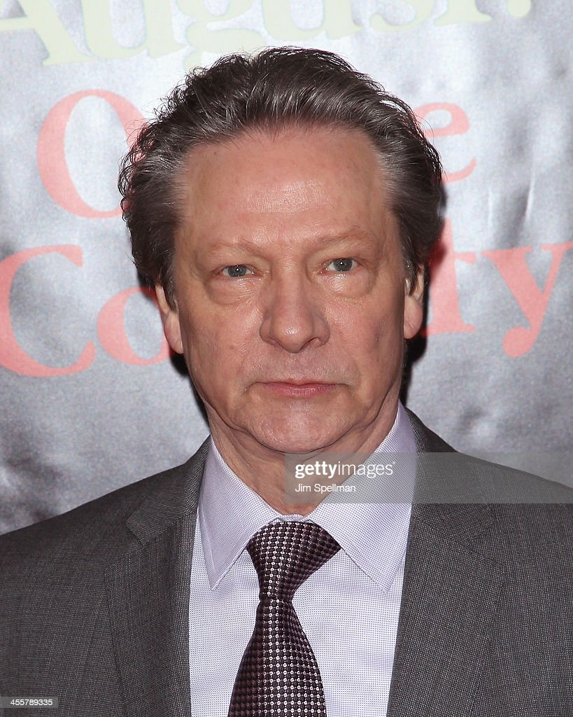 Actor Chris Cooper attends the 'August: Osage County' premiere at Ziegfeld Theater on December 12, 2013 in New York City.