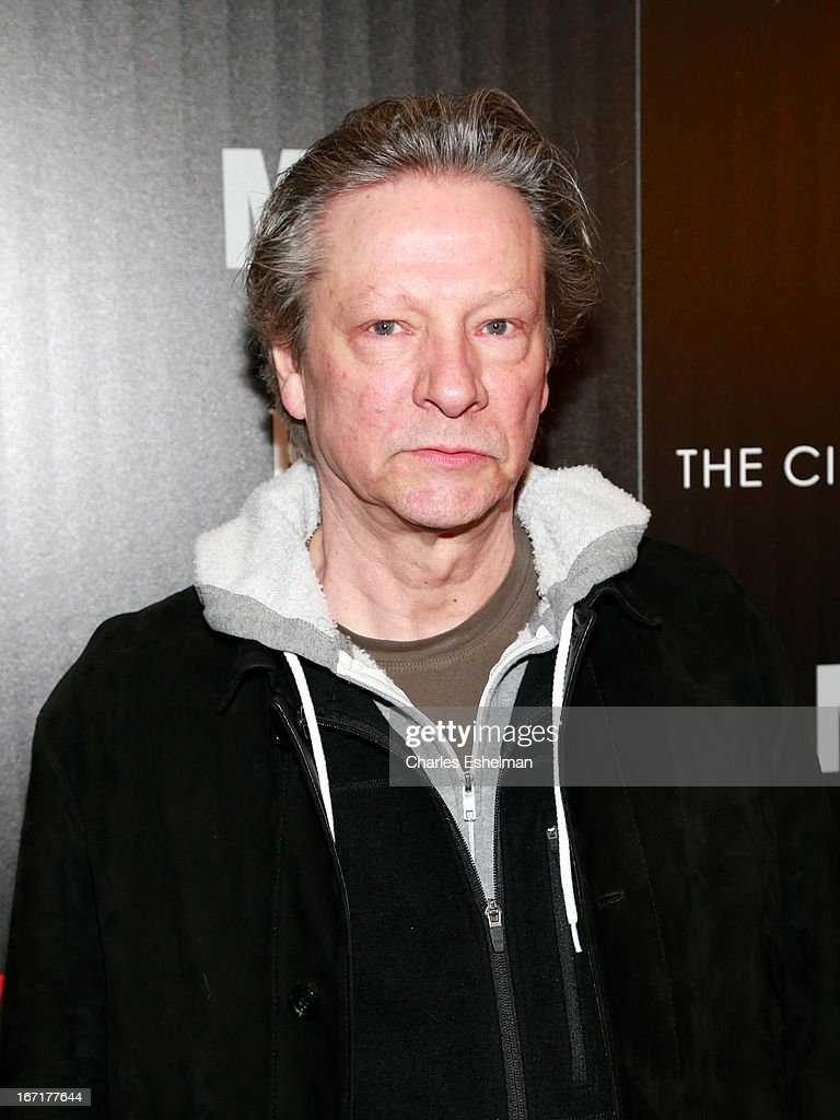Actor Chris Cooper attends The Cinema Society with FIJI Water & Levi's screening of 'Mud' at The Museum of Modern Art on April 21, 2013 in New York City.