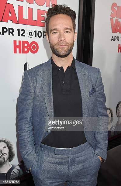 Actor Chris Diamantopoulos attends the HBO 'Silicon Valley' season 2 premiere and after party at the El Capitan Theatre on April 2 2015 in Hollywood...
