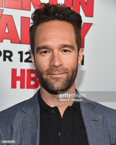 Actor Chris Diamantopoulos attends the premiere of HBO's 'Silicon Valley' 2nd Season at the El Capitan Theatre on April 2 2015 in Hollywood California