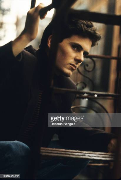 Actor Chris Eigeman poses for a portrait in 1990 in New York City New York