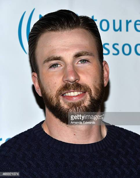 Actor Chris Evans arrives at the 2nd Annual Hollywood Heals Spotlight On Tourette Syndrome event at the House of Blues Sunset Strip on March 5 2015...
