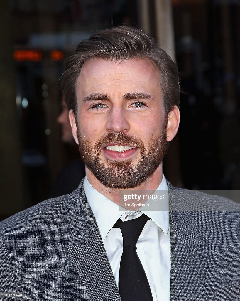 Actor <a gi-track='captionPersonalityLinkClicked' href=/galleries/search?phrase=Chris+Evans+-+Actor&family=editorial&specificpeople=6873149 ng-click='$event.stopPropagation()'>Chris Evans</a> attends The Cinema Society Screening of 'Captain America: The Winter Soldier' Screening at Tribeca Grand Hotel on March 31, 2014 in New York City.