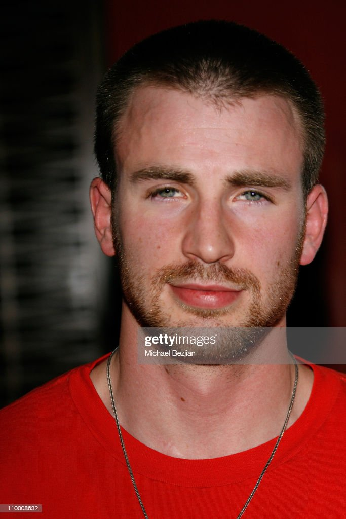 Actor Chris Evans attends the Street Kings Premiere Party on April 2 2008 at Stone Rose LA in Los Angeles California
