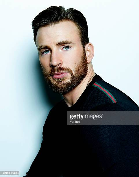 Actor Chris Evans is photographed for Variety on September 6 2014 in Toronto Ontario