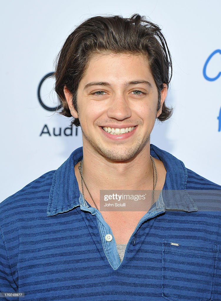 Actor Chris Galya arrives at the 1st Annual Children Mending Hearts Style Sunday on June 9, 2013 in Beverly Hills, California.