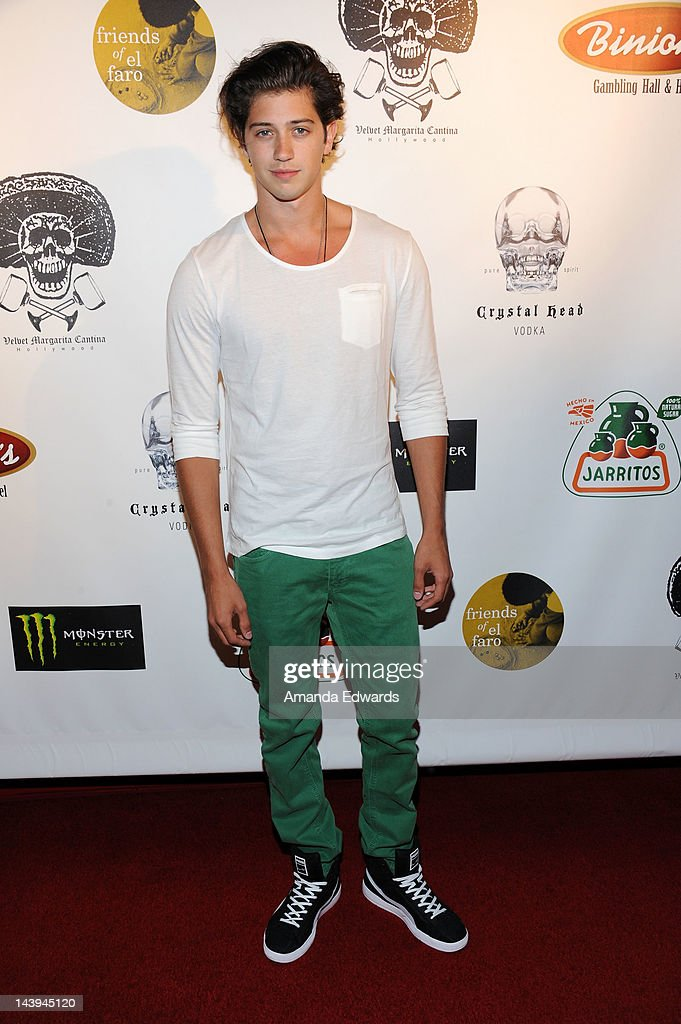 Actor Chris Galya arrives at the 8th Annual Cinco de Mayo Benefit With Charity Celebrity Poker Tournament at Velvet Margarita Cantina on May 5, 2012 in Hollywood, California.