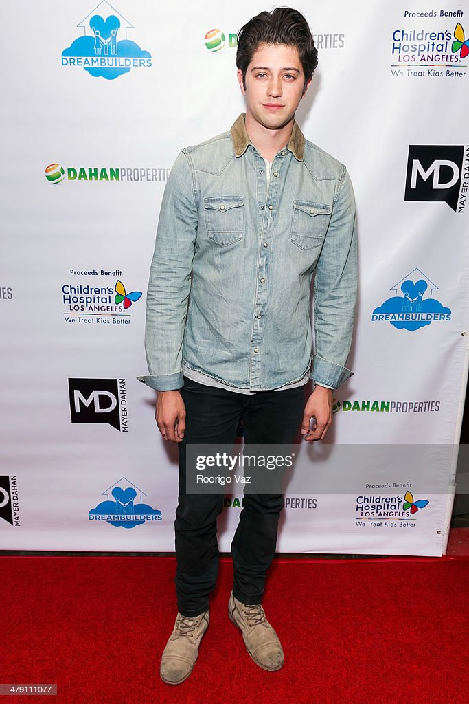 Actor Chris Galya attends The Dream Builders Project 'A Brighter Future For Children' at H.O.M.E. on March 15, 2014 in Beverly Hills, California.