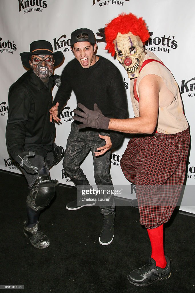 Actor Chris Galya attends the Knott's Scary Farm 'Haunt' VIP Opening Night Party at Knott's Berry Farm on October 3, 2013 in Buena Park, California.