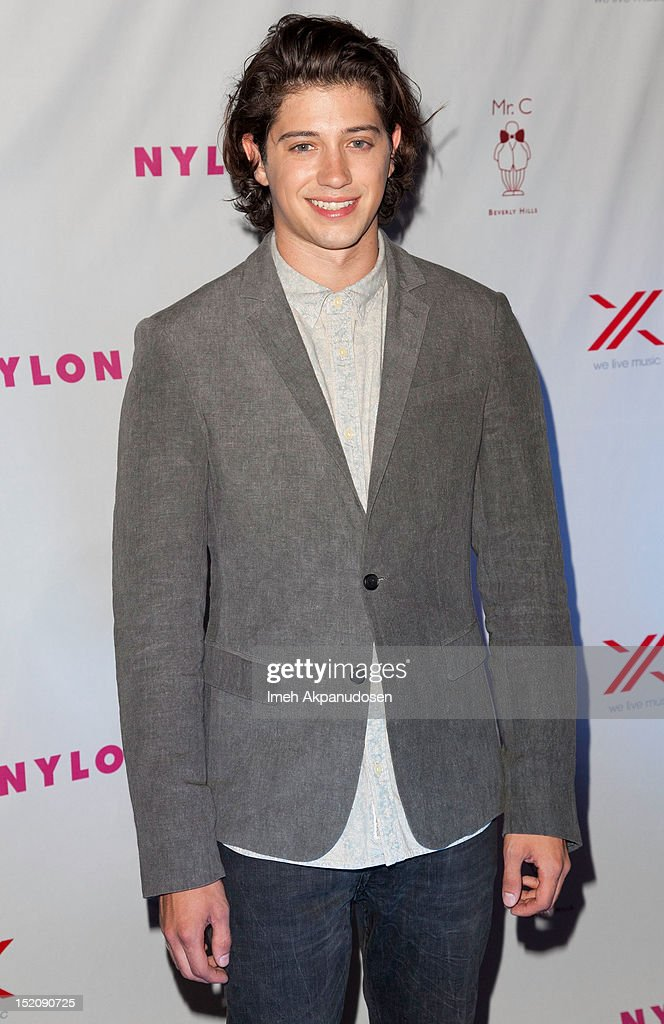 Actor Chris Galya attends the NYLON And Sony X Headphones September TV Issue Party at Mr. C Beverly Hills on September 15, 2012 in Beverly Hills, California.