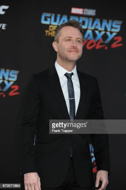 Actor Chris Hardwick attends the premiere of Disney and Marvel's 'Guardians Of The Galaxy Vol 2' at the Dolby Theatre on April 19 2017 in Hollywood...