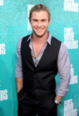 Actor Chris Hemsworth arrives at the 2012 MTV Movie Awards held at Gibson Amphitheatre on June 3 2012 in Universal City California
