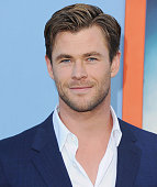 Actor Chris Hemsworth arrives at the Los Angeles Premiere 'Vacation' at Regency Village Theatre on July 27 2015 in Westwood California