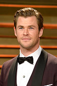 Actor Chris Hemsworth attends the 2014 Vanity Fair Oscar Party hosted by Graydon Carter on March 2 2014 in West Hollywood California
