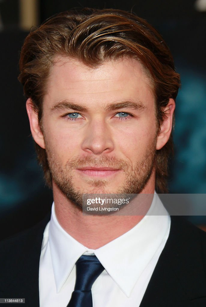 Actor <a gi-track='captionPersonalityLinkClicked' href=/galleries/search?phrase=Chris+Hemsworth&family=editorial&specificpeople=646776 ng-click='$event.stopPropagation()'>Chris Hemsworth</a> attends the premiere of Paramount Pictures' And Marvel's 'Thor' at the El Capitan Theatre on May 2, 2011 in Los Angeles, California.