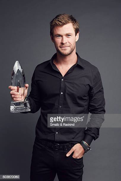 Actor Chris Hemsworth poses for a portrait at the 2016 People's Choice Awards at the Microsoft Theater on January 6 2016 in Los Angeles California