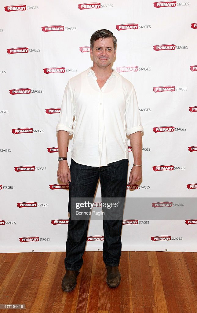 Actor Chris Henry Coffey attends the cast meet and greet for the upcoming Off-Broadway production 'Bronx Bombers' at Playwrights Horizons Rehearsal Studios on August 21, 2013 in New York City.
