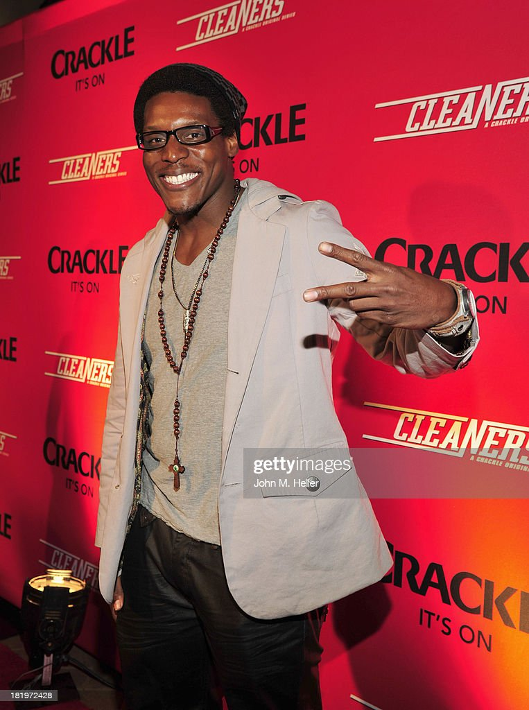Actor Chris Jai Alex attends the premiere of Crackle's new original digital series 'Cleaners' at the Cary Grant Theater on the Sony Pictures Studio lot on September 26, 2013 in Culver City, California.