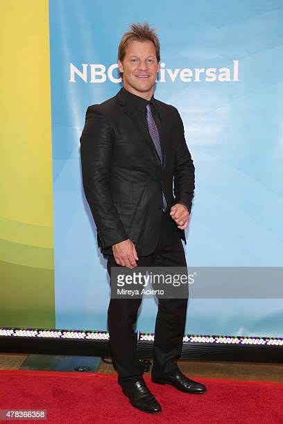 Actor Chris Jericho attends the 2015 NBC New York Summer Press Day at Four Seasons Hotel New York on June 24 2015 in New York City